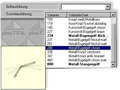 Kuchenplanungssoftware plantek 120 standard for Küchenplanungssoftware