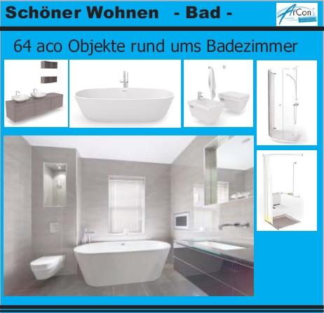 sch ner wohnen bad 3d bad objekte f r arcon preis 49. Black Bedroom Furniture Sets. Home Design Ideas
